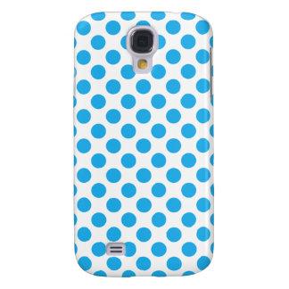 Capa Samsung Galaxy S4 Bolinhas azuis