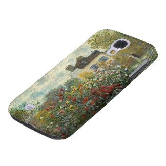 Capa Samsung Galaxy S4 Claude Monet | o jardim do artista em Argenteuil