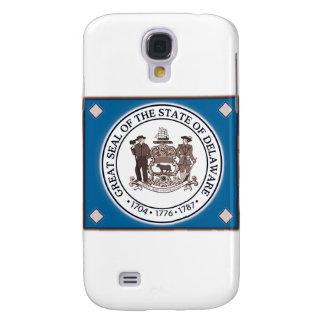 Capa Samsung Galaxy S4 Selo do estado de Delaware