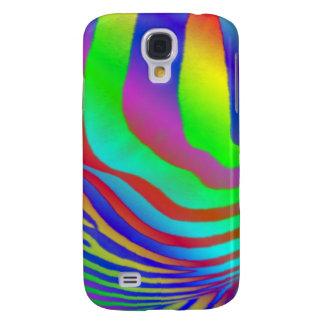 Capa Samsung Galaxy S4 Zebra do arco-íris