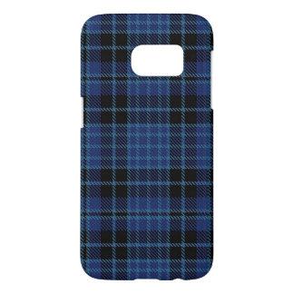 Capa Samsung Galaxy S7 Cores da xadrez de Tartan dos cleros de Scotland