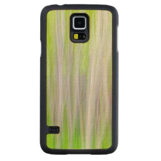 Capa Slim De Bordo Para Galaxy S5 Abstrato da fuga do rio das árvores   Yakima de