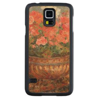 Capa Slim De Bordo Para Galaxy S5 Pierre gerânio de Renoir um   em uma bacia de