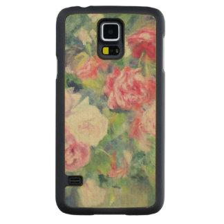 Capa Slim De Bordo Para Galaxy S5 Pierre rosas 2 de Renoir um  