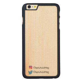 Capa Slim Para iPhone 6 Plus De Bordo, Carved Synch marcou o iPhone 6/6s mais o caso