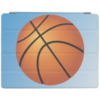Capa Smart Para iPad Fundo do azul do ícone do basquetebol