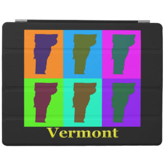 Capa Smart Para iPad Mapa de Vermont