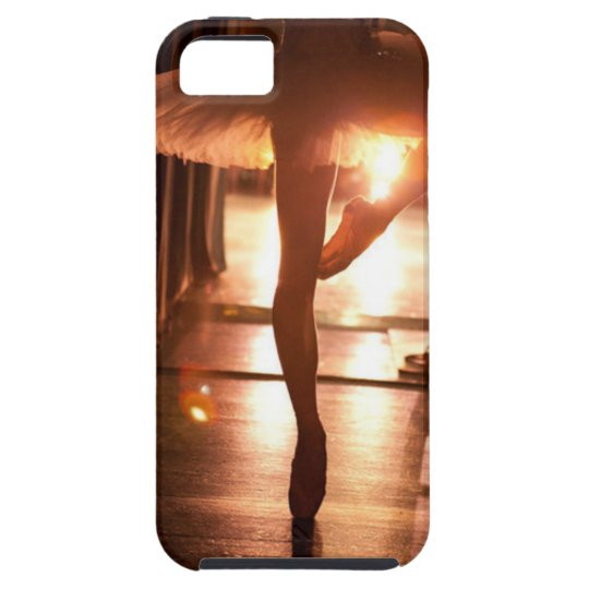 Capa Tough Para iPhone 5 Ballerina