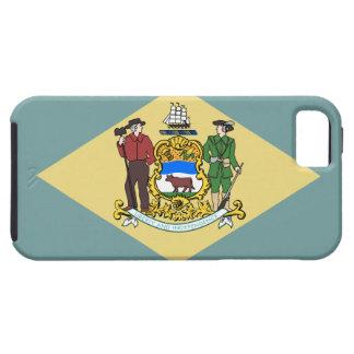 Capa Tough Para iPhone 5 Bandeira de Delaware