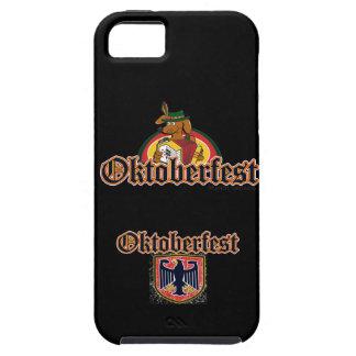 Capa Tough Para iPhone 5 Dachshund de Oktoberfest