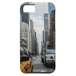 Capa Tough Para iPhone 5 Estrada Nyc da rua de New York do táxi do tráfego