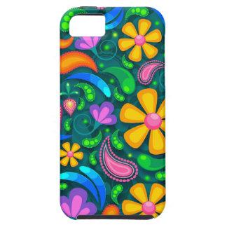 Capa Tough Para iPhone 5 floral