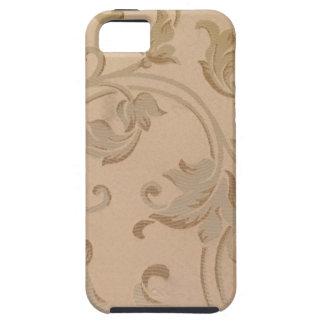 Capa Tough Para iPhone 5 O ouro floresce a caixa para o SE do iPhone +