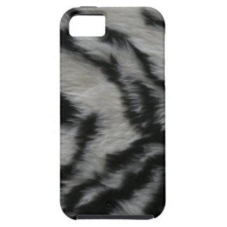 Capa Tough Para iPhone 5 Pele branca do tigre