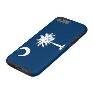 Capa Tough Para iPhone 6 Bandeira do estado de South Carolina