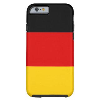 Capa Tough Para iPhone 6 Bandeira nacional do mundo de Alemanha