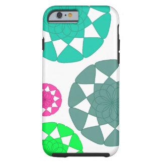 Capa Tough Para iPhone 6 Caixa multicolorido do design floral para o iPhone