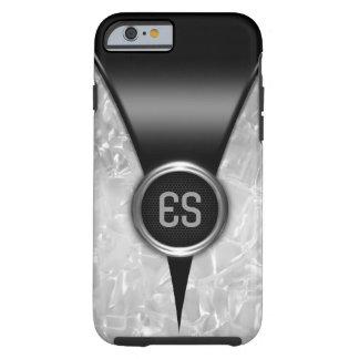 Capa Tough Para iPhone 6 Caixa preta retro do iPhone 6