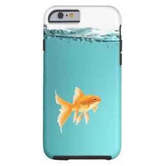 Capa Tough Para iPhone 6 Caso resistente do iPhone 6/6S do peixe dourado