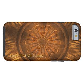 Capa Tough Para iPhone 6 Cinzeladura de madeira