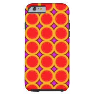Capa Tough Para iPhone 6 Círculo abstrato