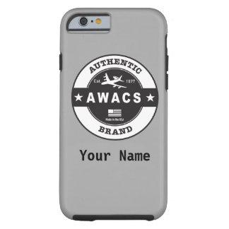 Capa Tough Para iPhone 6 Crachá do círculo do AWACS