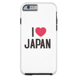 Capa Tough Para iPhone 6 Eu amo Japão