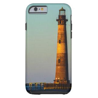 Capa Tough Para iPhone 6 Farol da ilha de Morris
