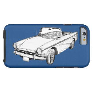 Capa Tough Para iPhone 6 Ilustração alpina do carro de 5 esportes