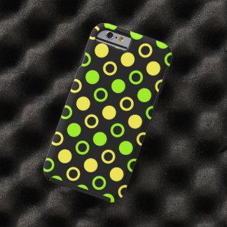 Capa Tough Para iPhone 6 Limão e anéis e bolinhas do limão por STaylor