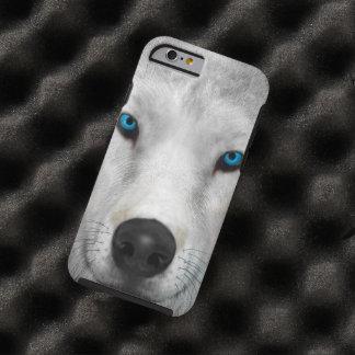 Capa Tough Para iPhone 6 Lobo ártico