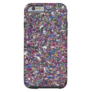 Capa Tough Para iPhone 6 O brilho feminino da menina Sparkles caso