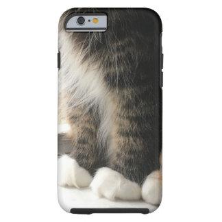 Capa Tough Para iPhone 6 Patas macias do gato