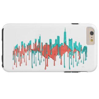 Capa Tough Para iPhone 6 Plus A skyline de Annapolis Maryland SG-Desvaneceu-se