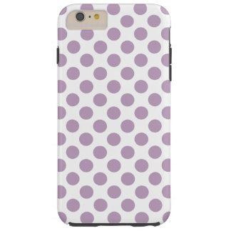 Capa Tough Para iPhone 6 Plus Bolinhas do Lilac