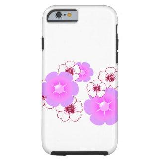 Capa Tough Para iPhone 6 POP do SAFARI - telefone das flores