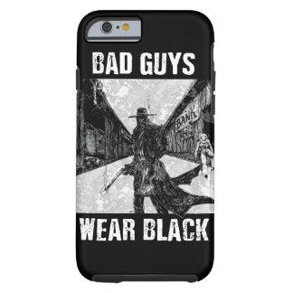 Capa Tough Para iPhone 6 Telefone de Black_black do desgaste dos tipos maus