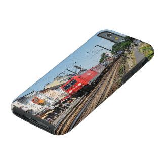 Capa Tough Para iPhone 6 Trem de carga em casa de tosco à reno