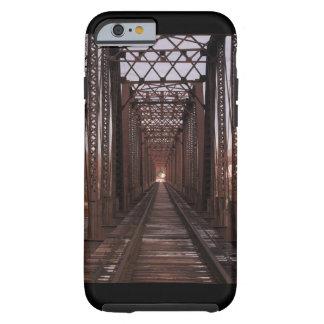 Capa Tough Para iPhone 6 Trilhas da estrada de trilho