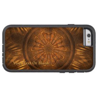 Capa Tough Xtreme Para iPhone 6 Cinzeladura de madeira
