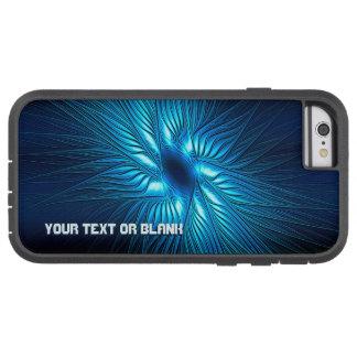 Capa Tough Xtreme Para iPhone 6 Estrela azul cinzelada
