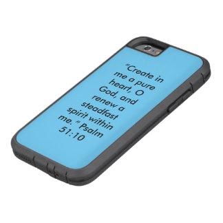 """Capa Tough Xtreme Para iPhone 6 """"Um Phon extremo resistente puro da pilha de"""