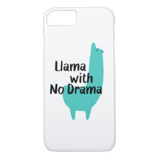 Capas de iphone azuis do lama