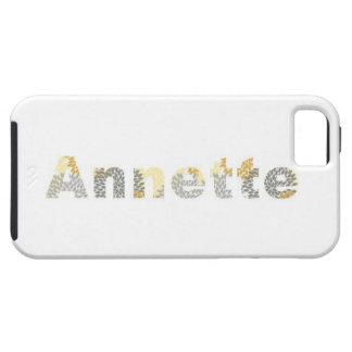 """Capas de iphone bonito de """"Annette"""" do design iPhone 5 Capas"""