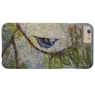 Capas de iphone da arte da aguarela do pássaro mal