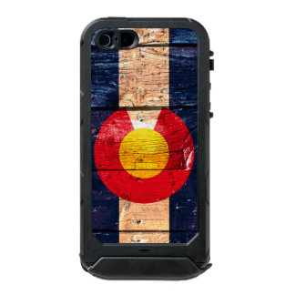 Capas de iphone da madeira de Colorado Capa Incipio ATLAS ID™ Para iPhone 5