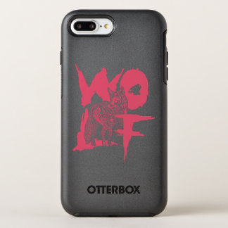 Capas de iphone de OtterBox do lobo Capa Para iPhone 7 Plus OtterBox Symmetry