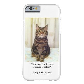 Capas de iphone do amante do gato de gato malhado