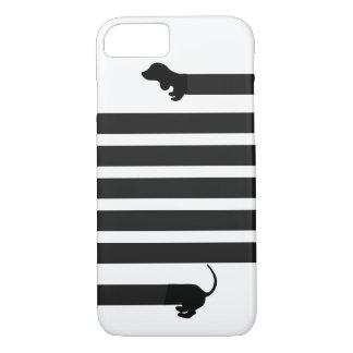 capas de iphone do cão de salsicha do dachshund
