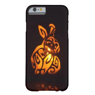 Capas de iphone do coelho do Lit da vela